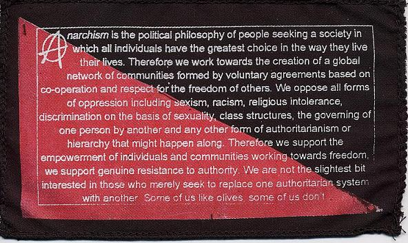 anarchism definition Anarchism definition