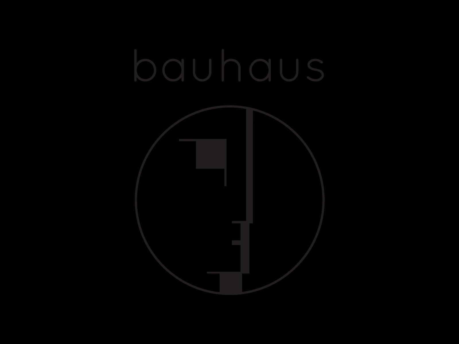 Bauhaus band logo
